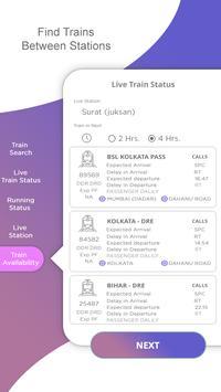 Indian Rail Info : Live Train Status & PNR Status screenshot 3