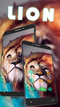 Wild Lion King AppLock poster