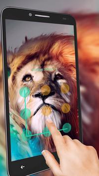 Wild Lion King AppLock apk screenshot