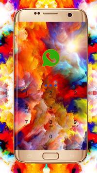 Colorful Cloud-Holi Theme poster