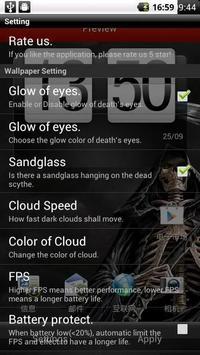 Dark Death Live Wallpaper Apk Screenshot