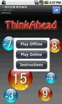 Think Ahead poster