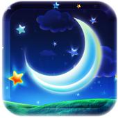 Dream Star night Lwp icon
