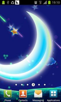 Dream Star night Lwp poster