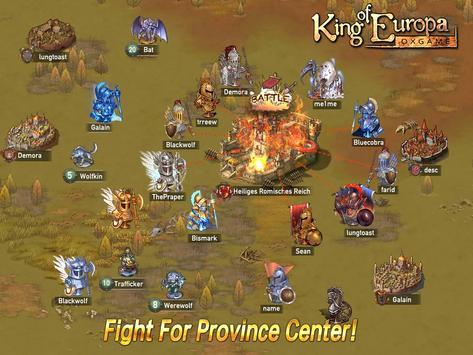 King of Europa apk screenshot
