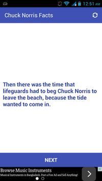 Chuck Norris Facts apk screenshot