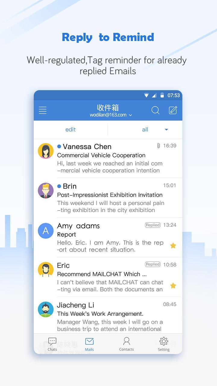 Mailchat-Gmail,Outlook,Yahoo for Android - APK Download