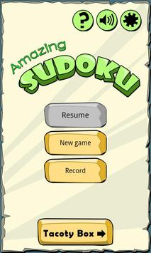Amazing SUDOKU poster