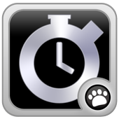 Electronic stopwatch icon