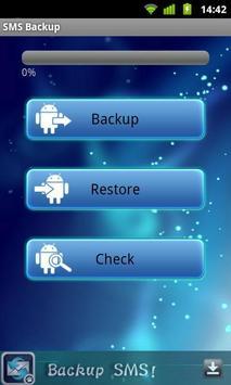 SMS Backup poster