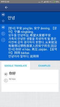 Chinese Korean Dictionary apk screenshot
