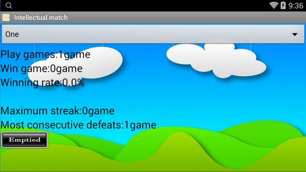 Intellectual matches screenshot 2