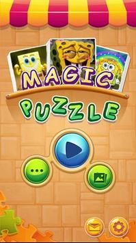 spongbob Puzzles Free 2018 poster