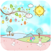 happy easter free wallpaper icon