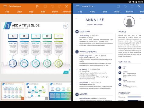 WPS Office - Word, Docs, PDF, Note, Slide & Sheet apk 截图