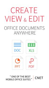 WPS Office - Word, Docs, PDF, Note, Slide & Sheet poster