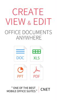 WPS Office + PDF poster