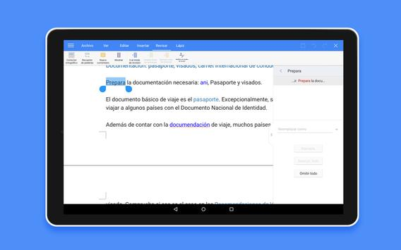 WPS Office Extra Goodies captura de pantalla de la apk