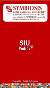 SIU Web TV poster