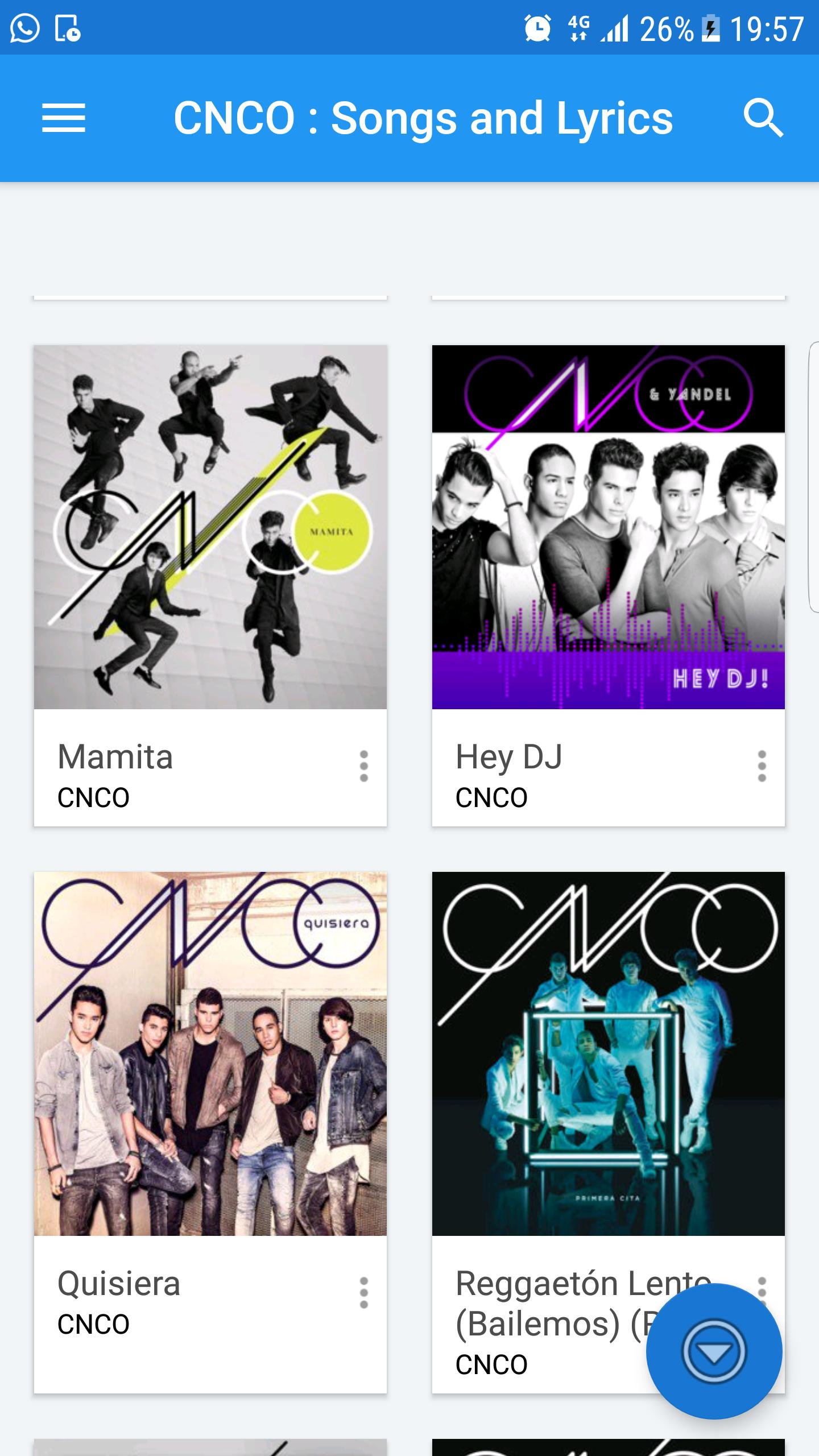 CNCO music & lyrics app for Android - APK Download