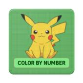 Color by Number Pokémon Pixel Art Sandbox icon