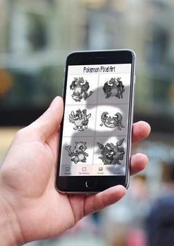 Color by Number Pokémon Pixel Art Sandbox screenshot 2