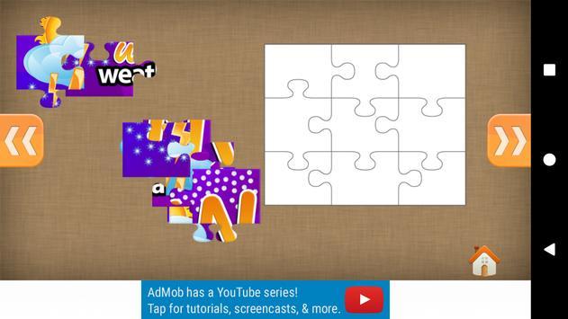 Gold Kids Jigsaw Puzzles apk screenshot