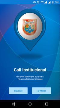 Cali Institucional poster