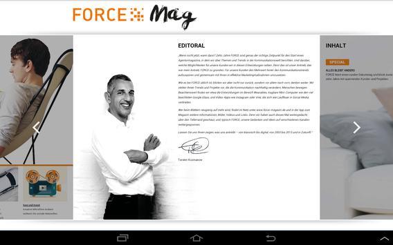FORCE Mag apk screenshot