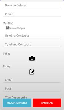RegistrApp screenshot 3