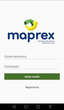 Maprex - Centro de Servicios poster