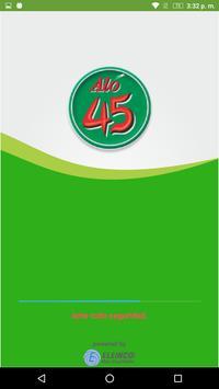 TaxiAló45 Usuario poster
