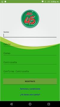 TaxiAló45 Usuario apk screenshot