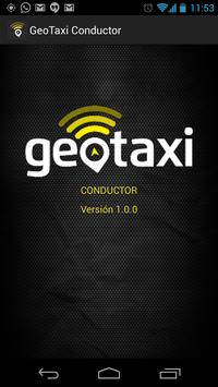 GeoTaxi Conductor poster
