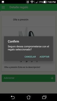 Lista De Regalos screenshot 2