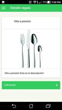 Lista De Regalos screenshot 3