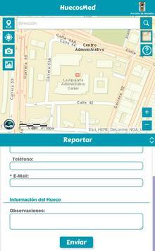 HuecosMed apk screenshot