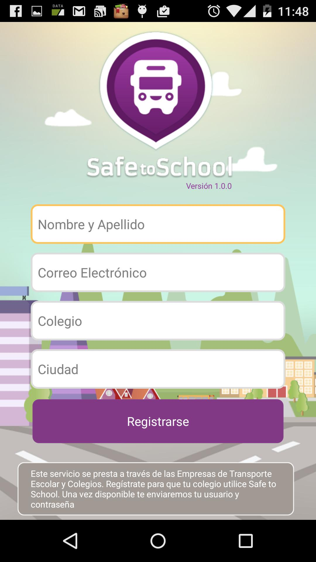 Safe To School poster