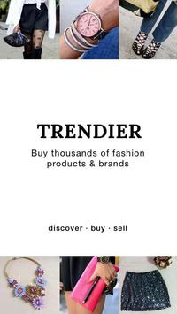 Trendier – Sell n' buy fashion poster