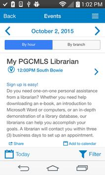 Prince George's County Library screenshot 1