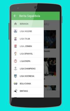 Berita SepakBola screenshot 1
