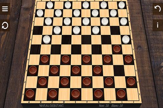 Free Checkers 3D screenshot 1