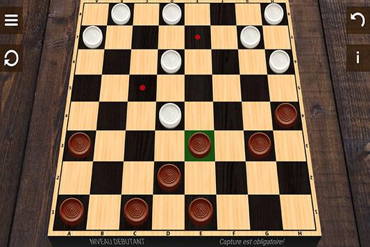 Free Checkers 3D screenshot 2