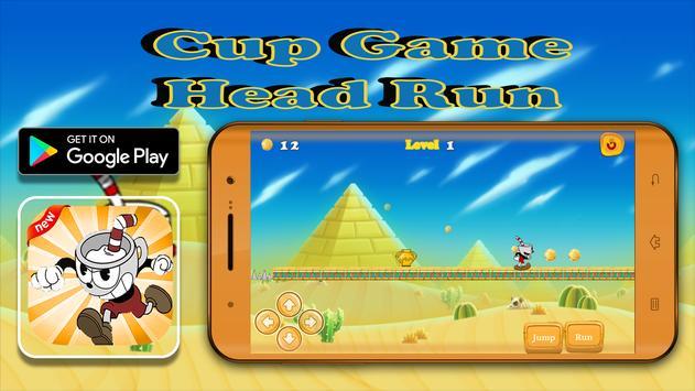 Cup Game Head Run apk screenshot