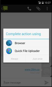 Quick File Uploader screenshot 1