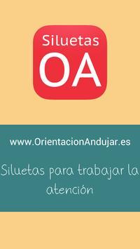 Siluetas OA poster