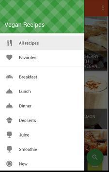 Vegan Recipes apk screenshot