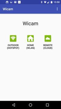 Open WiCAM poster