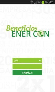 Beneficios Enercon poster