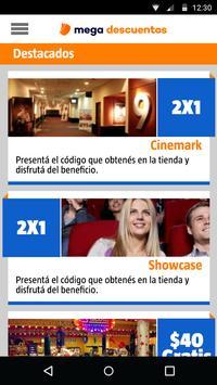 Mega Descuentos apk screenshot